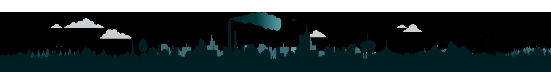 Sudbury Skyline Illustration