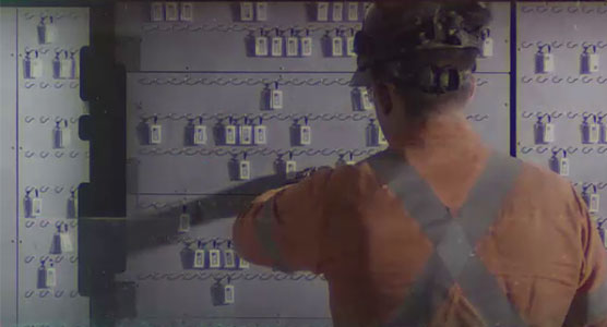 Worker Tagging Into Etag Board